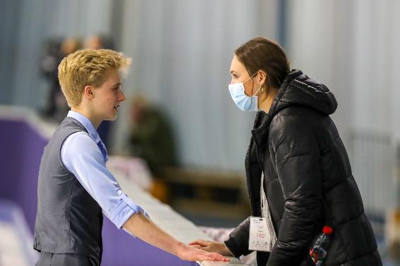 Arthur Mai mit Ria Schiffner